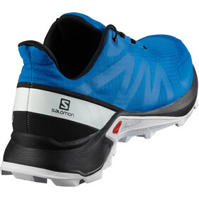 Salomon Supercross Schoenen Heren, indigo bunting black white